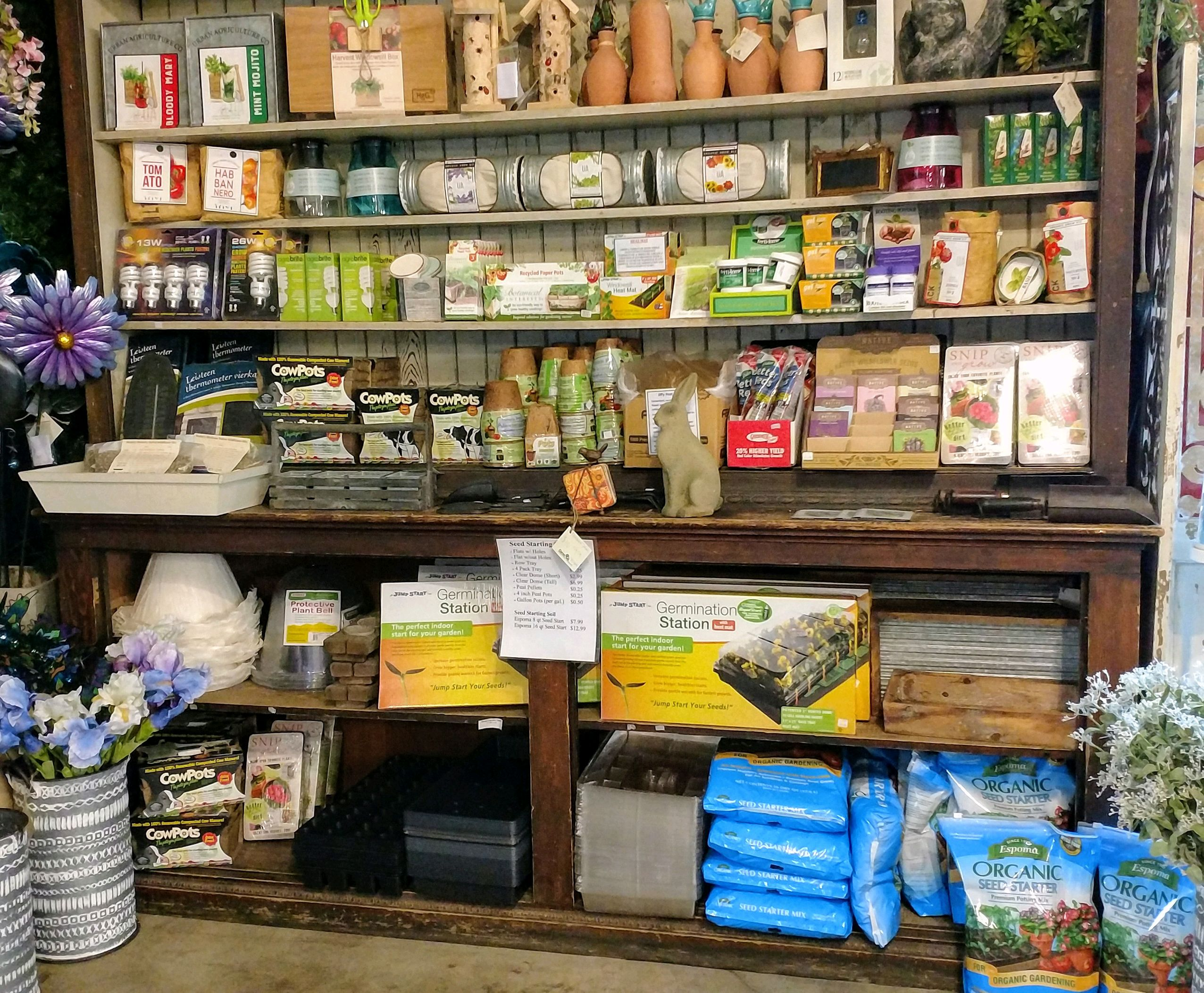 Planning what to plant this season? We have everything you need for a seed starting kit